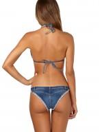 Bikini Triangolo Denim Agogoa Heritage - Limited Edition